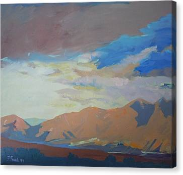 Montana Storm Canvas Print