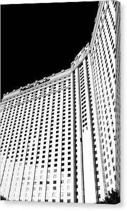 Monte Carlo Angles Canvas Print by John Rizzuto