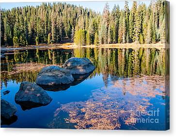 Montecito Lake Canvas Print