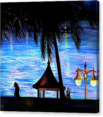 Montego Bay. Part Two  Canvas Print by Anna  Duyunova