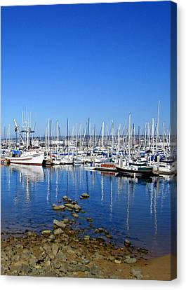 Canvas Print featuring the photograph Monterey-7 by Dean Ferreira