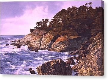 Monterey Glory Canvas Print by Tom Wooldridge