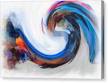 Monterey Wave Canvas Print