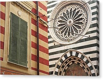 Monterosso Al Mare  Cinque Terre Canvas Print