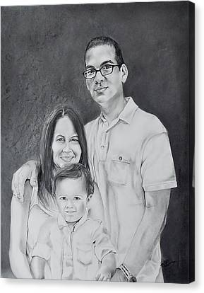 Montes Family Canvas Print