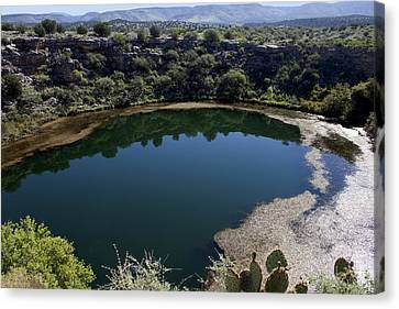 Montezuma Well Canvas Print by Ivete Basso Photography