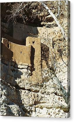 Canvas Print featuring the photograph Montezuma's Castle by Kerri Mortenson