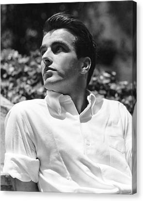 Montgomery Clift, In 1948 Canvas Print by Everett