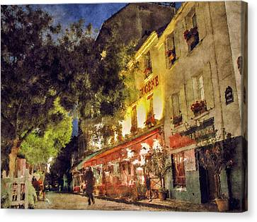 Montmartre Canvas Print by Celso Bressan