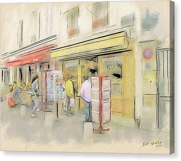 Montmartre Galleries Canvas Print