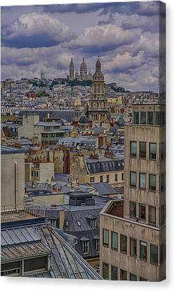 Montmartre Canvas Print by Gary Hall