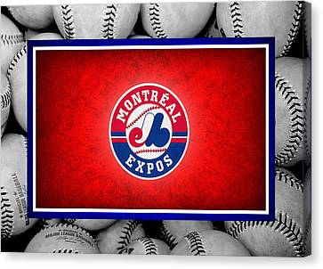 Montreal Expos Canvas Print