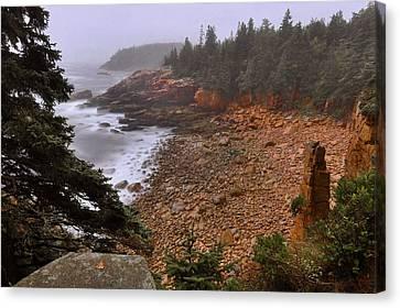 Monument Cove - Acadia Canvas Print