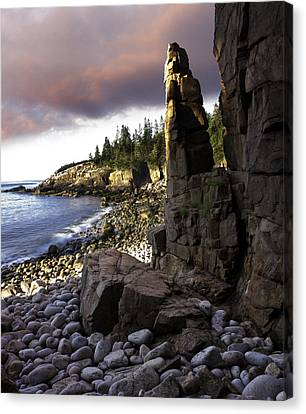 Monument Cove Sunrise 4984 Canvas Print by Brent L Ander