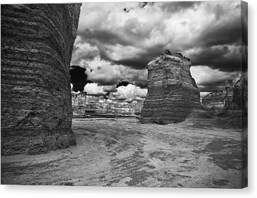 Monument Rock Canvas Print by Jay Stockhaus