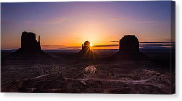 Monument Sunrise Canvas Print