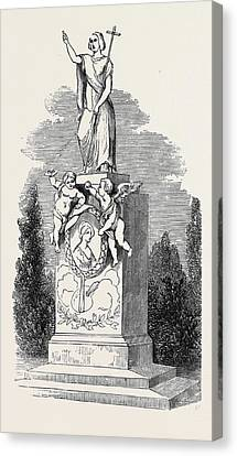 Monument To Madame Soyer Canvas Print