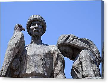 Monument To The Martyrs Of The Revolution In Bishkek In Kyrgyzstan  Canvas Print