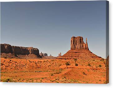 Natural Scenes Canvas Print - Monument Valley - Beauty Created By Nature by Christine Till