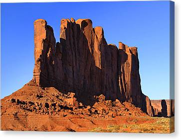 Navajo Nation Canvas Print - Monument Valley - Camel Butte by Mike McGlothlen
