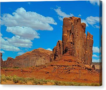 Monument Valley Inner Canvas Print by Ruben Barbosa