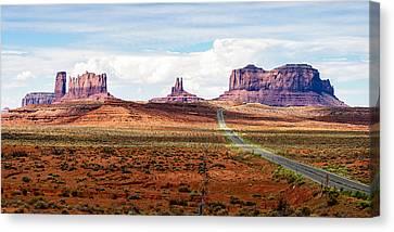 Monument Valley Canvas Print by John McArthur