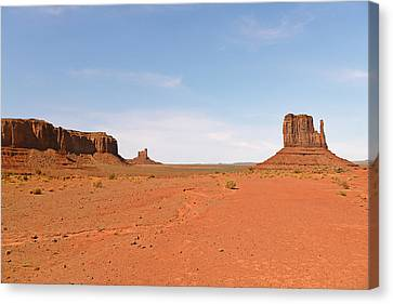 Monument Valley Navajo Tribal Park Canvas Print by Christine Till