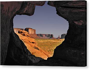 Monument Valley - The Untamed West Canvas Print
