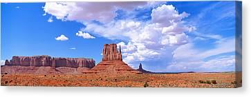 Monument Valley Tribal Park Az Usa Canvas Print