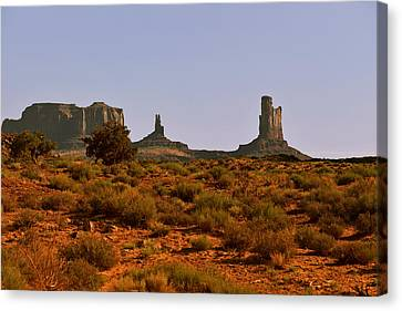 Monument Valley - Unusual Landscape Canvas Print