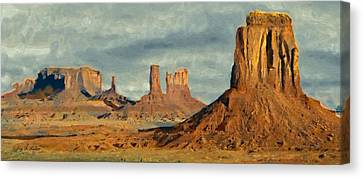 Monumental Canvas Print by Jeff Kolker