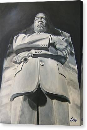 Monumental King Canvas Print