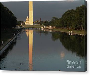 Monumental Reflection Canvas Print