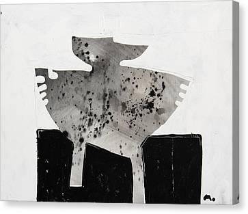 Monumentum No 3 Canvas Print by Mark M  Mellon