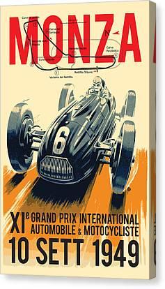 Monza Grand Prix Canvas Print by Gary Grayson