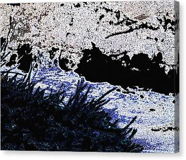 Mood River Canvas Print by Lenore Senior