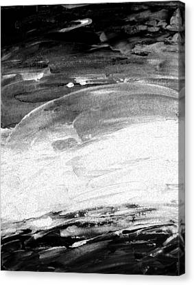 Moods Of Nature 2 Canvas Print by Lenore Senior
