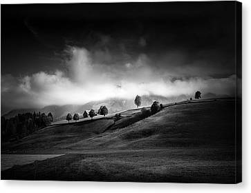 Moody Autumn Day Canvas Print