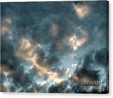 Moody Canvas Print by Melissa Stoudt