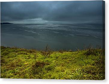 Moody Weather Canvas Print by Calazone's Flics