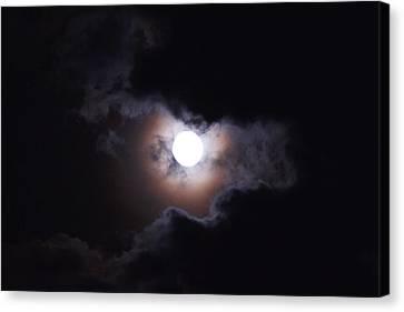Moon 2 Canvas Print