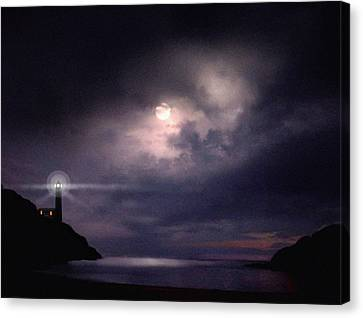 Moon Bay Canvas Print by Robert Foster