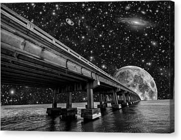 Moon Bridge Canvas Print