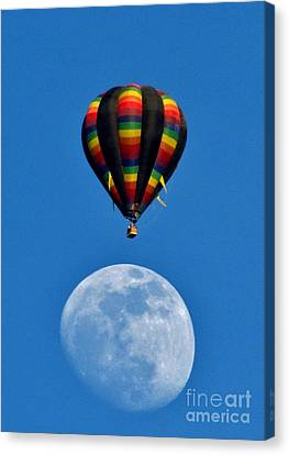 Moon Landing Canvas Print by Marilyn Smith