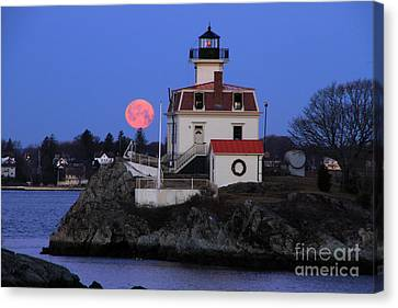 Moon-light Canvas Print by Butch Lombardi