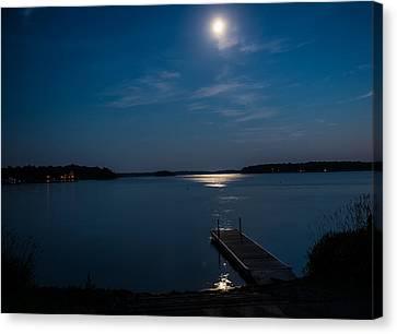 Moon Light Reflections Canvas Print