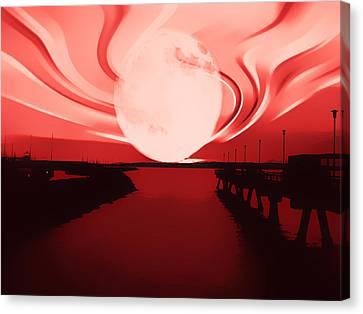 Moon Magic Canvas Print by Eddie Eastwood