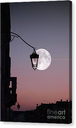 Moon Over Italy Canvas Print