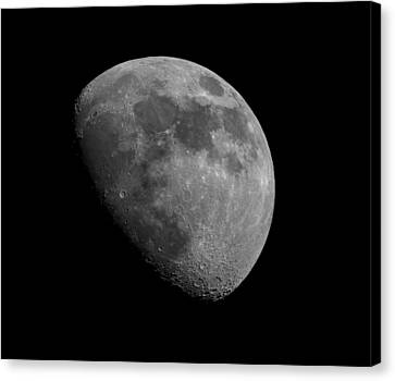 Canvas Print featuring the photograph Moon Phase by Dennis Bucklin
