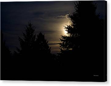 Moon Rising 02 Canvas Print by Thomas Woolworth